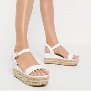 ALDO Mauma flatform espadrille sandal stud trim